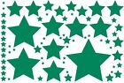 69 STARS Various Sizes Vinyl Decal Wall Window Glass Projects School Car Truck