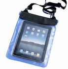 "Blue Waterproof Dry Bag Pouch Case Cover For PC Tablet TAB 9.7"" 10"" 10.1"" 2014"