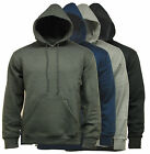 Men's AYT Sports Plain Hooded Sweatshirt Hoodie Top - D10