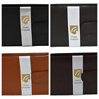COBB & CO - Men's Leather RFID Protected Wallet w/- Flap & Coin-BLK or BRN 54510