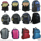 MENS LADIES BOYS GIRLS SCHOOL COLLEGE TRAVEL WORK SPORTS BACKPACK RUCKSACK BAGS