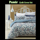 Pamir Floral Vine Quilted QUILT COVER Set - SINGLE DOUBLE QUEEN KING