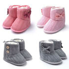 Cute Infant Girls Shoes Toddler Booties Soft Sole Knitted Shoes Baby Boots Crib