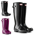 Womens Hunter Gloss Adjustable Strap Wellington Winter Snow Boot UK Sizes 3-8