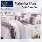 VALENTINA Blush Quilt Cover Set by Private Collection - QUEEN KING