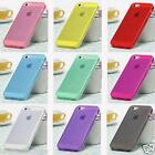 UltraThin 0.8mm High Quality TPU Soft Crystal Clear Color Cover Case iPhone 5 5S