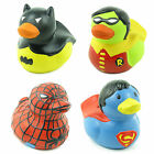 CERAMIC SUPERHERO DUCKS MONEY BOXES PIGGY BANK SAVINGS BAT SPIDER ROBIN GIFT