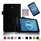 "Carry Leather Case Cover+Gift For 8"" Dell Venue 8 Android Tablet DZWY"