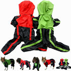 Pet Dog Waterproof Thick Raincoat Outdoor Hooded Clothes Hoodie Apparel S/M/L/XL