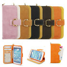 For Galaxy S5 SV Premium Soft Leather Case Stand Card Wallet Diary Flip Cover