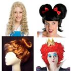 CARTOON CHARACTER FAIRY TALE COSPLAY COSTUME WIGS SNOW WHITE ALICE ANNA