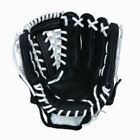 Vinci Pro 22 Series Mesh Back JC3333-22 Baseball Glove Black with White Lace 11.