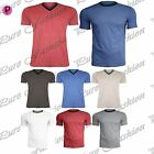 New Mens Summer Casual Brave Soul Designer Crew V Neck Short Sleeves T Tee Shirt
