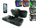 Apple iPhone 5 5s SE +Pry Tool Premium MyCarbon Holster Stand Hybrid Case Cover