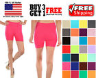 Внешний вид - Womens Stretch Seamless Casual Spin Bike Shorts Cycling Exercise Yoga Workout
