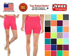 Womens Stretch Seamless Casual Shorts Biker Exercise Yoga Workout Size XS,S,M,L