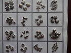 Premium Quality Antique Silver Tibetan Spacer Beads Charms Findings to Choose