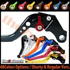T2W CNC Adjustable Brake Clutch Levers Honda CBR125R 2004-2012