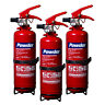 More images of NEW 3 X 1 KG DRY POWDER FIRE EXTINGUISHER FOR HOME / OFFICE / CAR / BOAT DP1E