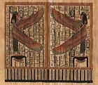 "Egyptian Papyrus Painting - Tutankhamon's Room 7X9"" + Hand Painted #79"