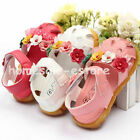 Baby Girl Toddler Kid Summer Cute Skidproof Flower Sandal Soft Sole Shoes Velcro