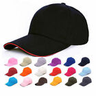 Men Women Plain Outdoor Sport Baseball Golf Hiking Cotton Cap Hat Adjustable