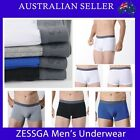 Mens underwear Boxer Trunks Undies - Zeggas Cotton underwear Boxers 15CK049