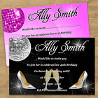 Personalised Birthday Party Invites Invitations 18th 21st 30th 40th 50th Any Age