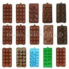Cake Chocolate Cookie Muffin Candy Soap Mold Mould Ice Cube Tray Baking Xmas