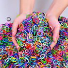 Mixed Loom Rubber Band Rainbow Colourful Loom Refill Bracelet Bands Fits 7200pcs