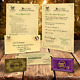 Watchers: 1276Harry Potter PERSONALISED HOGWARTS ACCEPTANCE LETTER PLUS FREE EXPRESS TICKET q