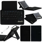 Black PU Leather Wireless Bluetooth Keyboard Case For 7 7.7'' 7.9 8 Tablet PC