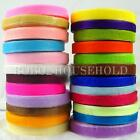 "50 Yard 10mm(3/8"") Width Sheer Organza Ribbon Craft Satin Tulle Wedding Party"