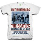THE BEATLES 1962 LIVE IN HAMBURG OFFICIAL LICENSED T SHIRT MERCHANDISE