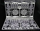 Henna Stencils Mehndi Stencils Arabic/Indian Style Body Art, Pack Of 2 Pages