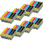 40 COMPATIBLE INK CARTRIDGES FOR EPSON STYLUS COLOUR INKJET PRINTERS