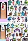 60x Monsters Inc. Inc OR University Nail Art Decals + Free Gems Disney Mike Boo