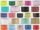 7mm x 100M RAFFIA PAPER RIBBON various colours, Gifts Flowers Wedding Crafts