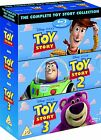 TOY STORY TRILOGY BLU-RAY DISC BOX SET COMPLETE 1 2 3 DISNEY PIXAR 3 MOVIES