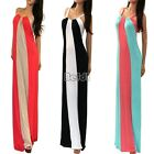 New Ladies Womens Cocktail Sleeveless Sexy Full Long Maxi Dress Size 2 6 10