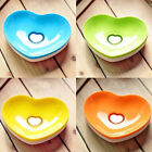 Cute Heart Shape Soap Holder Home Soap Dish Case Bathroom Soap Container