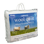 Hilton Australian Wool Machine Washable 500gsm Quilt