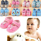 Newborn Baby Girl Boy Anti-slip Star Socks Slipper Toddler Soft Shoes Boots Hot
