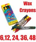 WAX CRAYONS Coloured Kids Party Favor Favour Goody Loot Bag Gift Fillers Toys