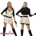 Ladies Sexy Police woman Costume Cops Uniform Policeman Hens Fancy Dress