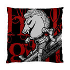 Alice In Wonderland Grunge White Knight (Red Version) Two Sided Cushion Cover