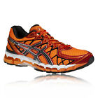 Asics Gel-Kayano 20 Mens Orange Support Road Running Shoes Trainers Pumps New