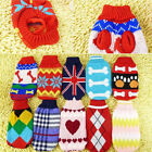 Cute Pet's Warm Clothes Dog's Knitted Sweater Puppy Clothes Coat Cat's Apparel