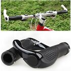DOUBLE LOCK ON LOCKING BMX MTB MOUNTAIN BIKE CYCLE BICYCLE HANDLE BAR GRIPS ENDS