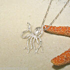 OCTOPUS 925 Sterling Silver Necklace Chain and Pendant 2029
